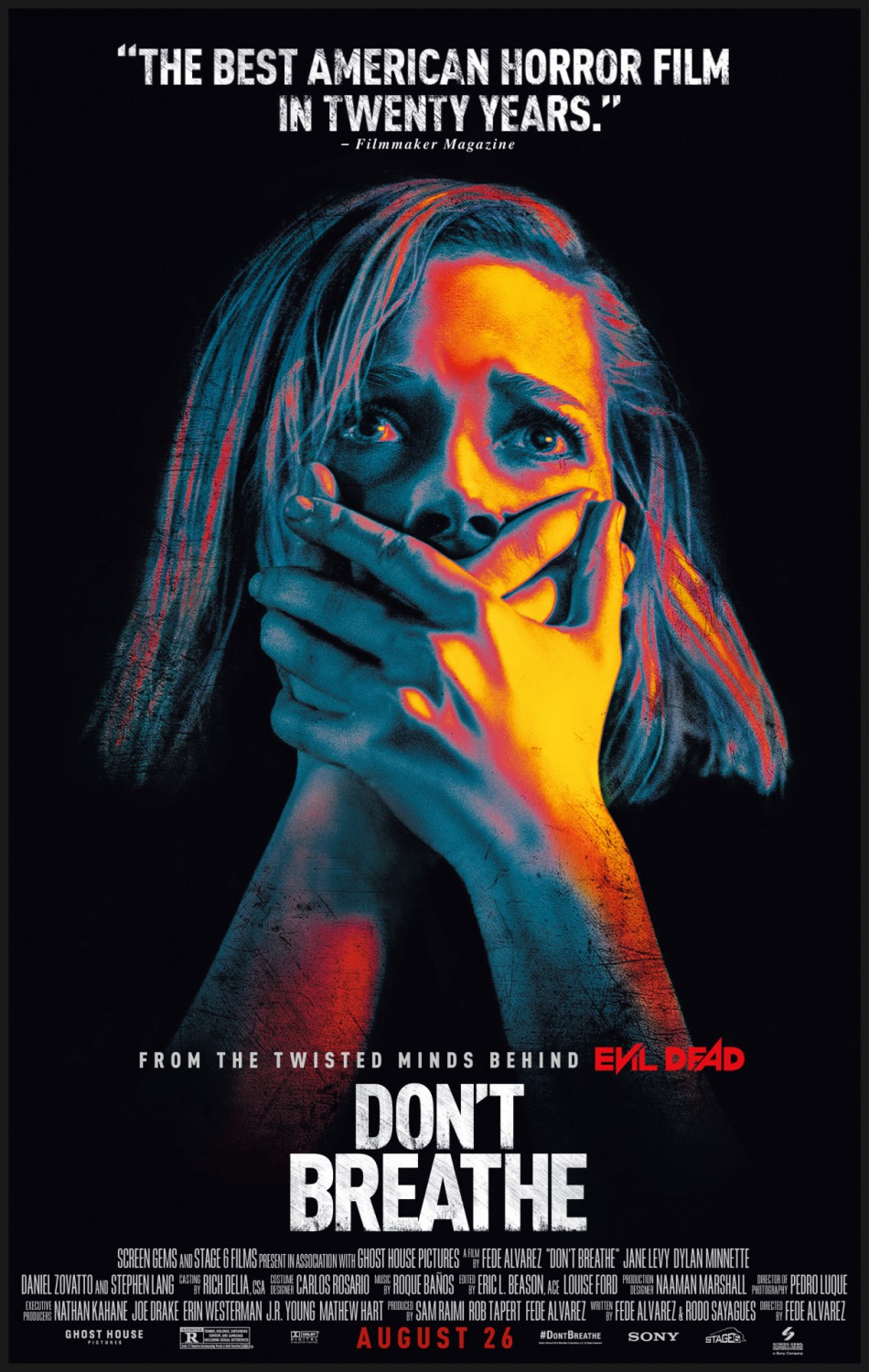 Don't Breathe film review: night terrors