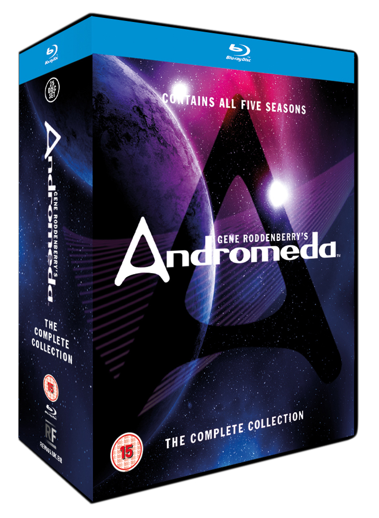 Andromeda: The Complete Collection Blu-ray review