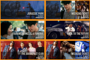 Pop Up Screens presents Back To The Future, Deadpool and more
