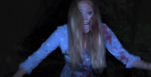 Found Footage 3D trailer starts snarky, finishes scary