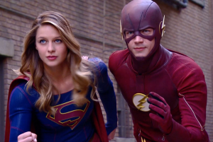 A Supergirl/The Flash musical is on the way!