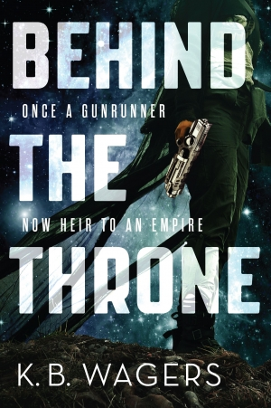 Behind The Throne by KB Wagers book review
