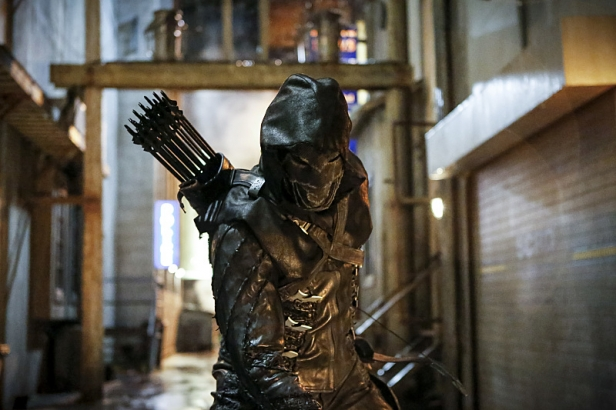 """Arrow -- """"Legacy"""" -- Image AR501a_0056b --- Pictured: Prometheus -- Photo: Bettina Strauss/The CW -- © 2016 The CW Network, LLC. All Rights Reserved."""