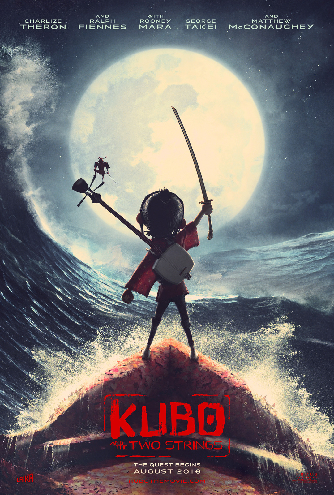 Kubo And The Two Strings film review