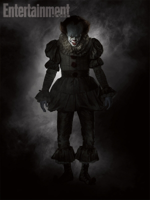 Stephen King's It: new Pennywise pic is bloody terrifying