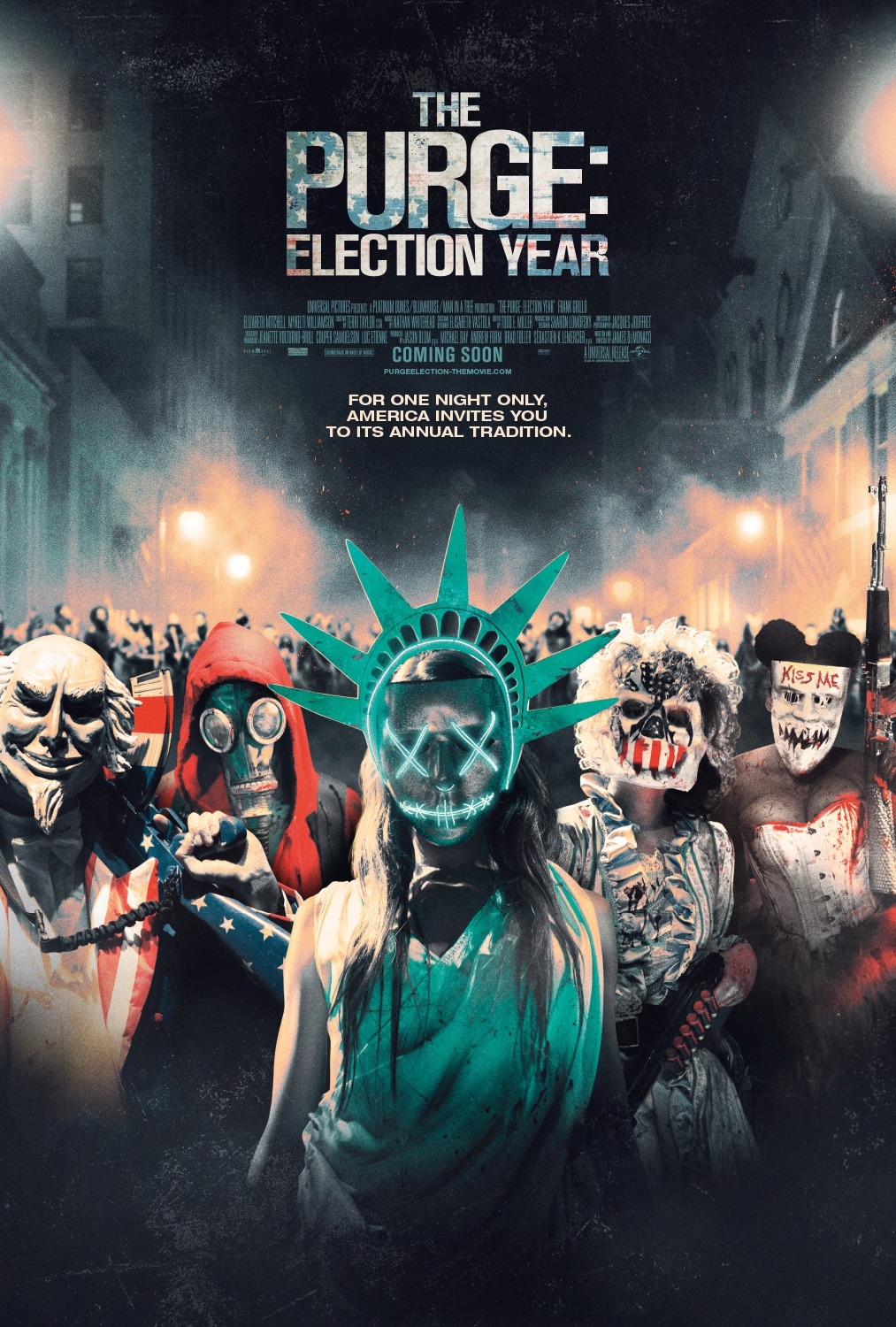 Purge Election Year review: democracy fights