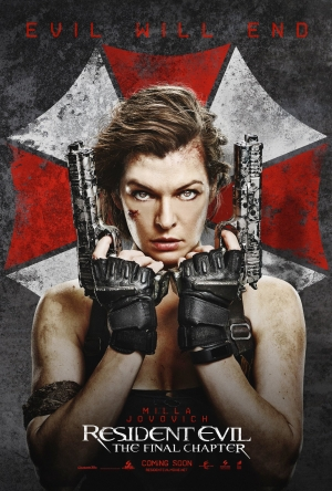 Resident Evil: The Final Chapter poster wants to end evil