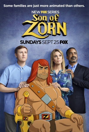 Son Of Zorn new posters are more animated than you