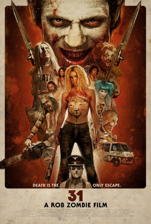 Rob Zombie's 31 final poster says death is the only escape