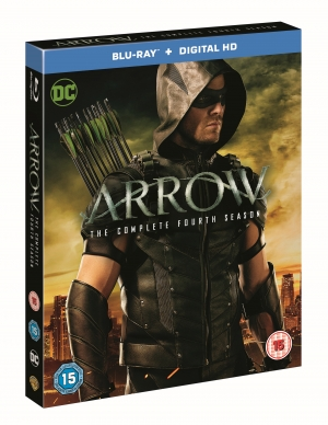 Win Arrow Season 4 Blu-ray with a TV and Blu-ray player!