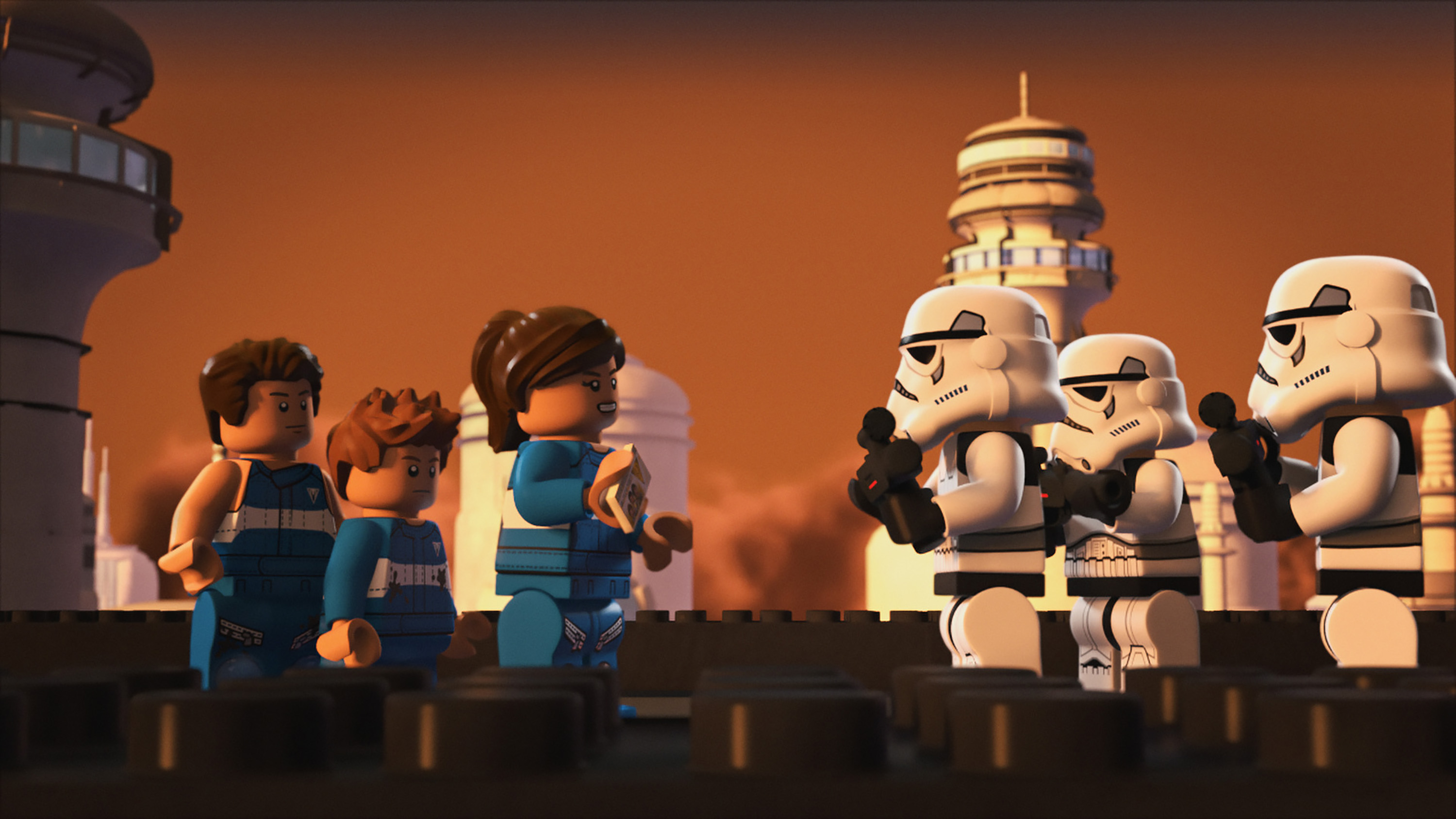 "LEGO STAR WARS: THE FREEMAKER ADVENTURES - ""The Lost Treasure of Cloud City"" - A hunt for precious cargo brings the Freemakers to Cloud City. This episode of ""LEGO Star Wars: The Freemaker Adventures"" airs Thursday, June 23 (10:00 - 10:30 A.M. EDT) on Disney XD. (Disney XD)."