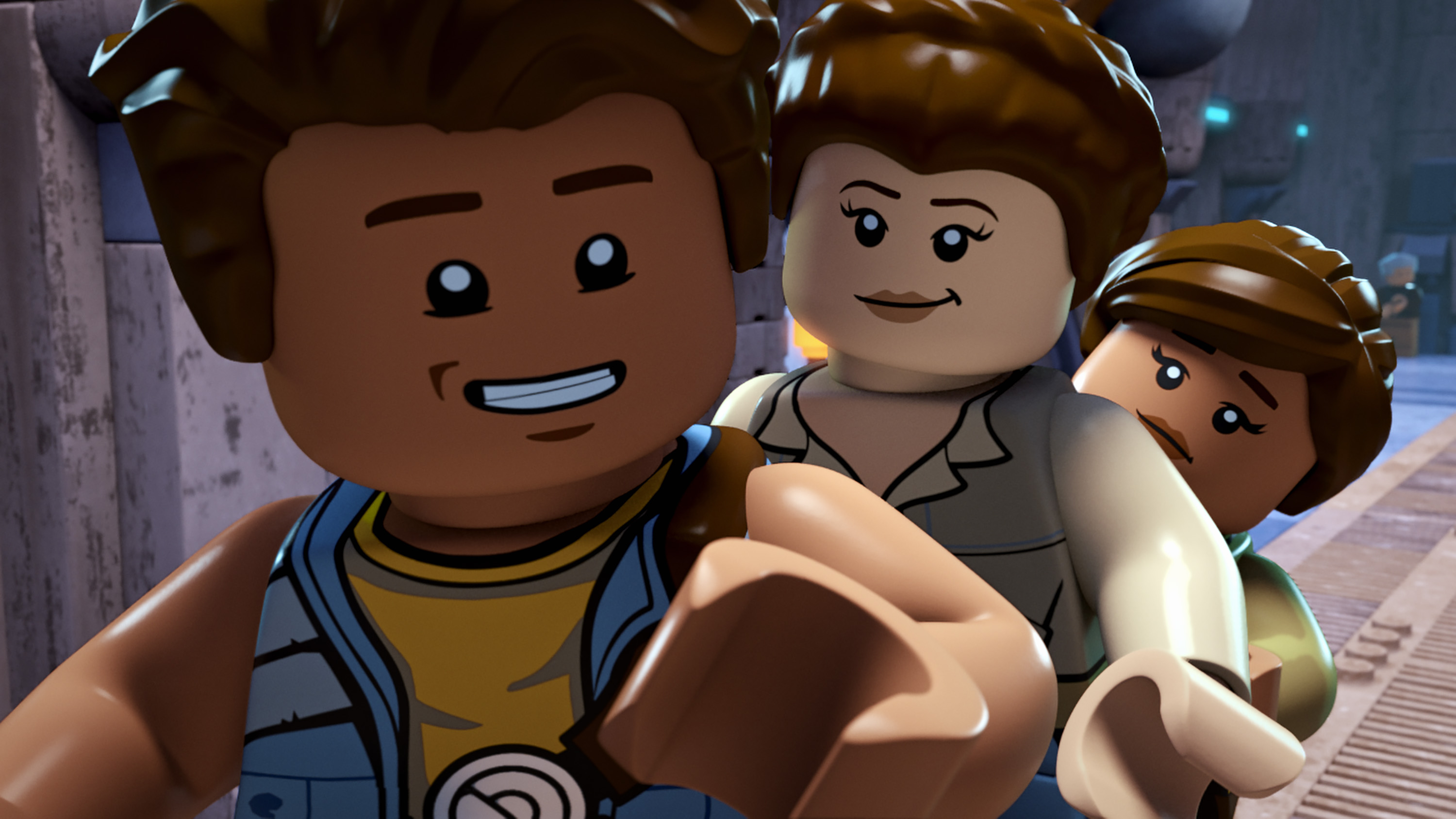 "LEGO STAR WARS: THE FREEMAKER ADVENTURES - ""Crossing Paths"" - While on the run from Imperials, Luke and Leia show the Freemakers the selfless nature of the Force and the Rebellion. This episode of ""LEGO Star Wars: The Freemaker Adventures"" airs Monday, July 11 (10:00 - 10:30 A.M. EDT) on Disney XD. (Disney XD)."