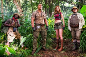 Jumanji pic gives us first look at cast