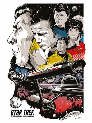 Win a Star Trek officially licensed commemorative print!