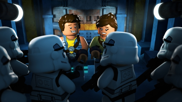 """LEGO STAR WARS: THE FREEMAKER ADVENTURES - Introducing new heroes and villains to the LEGO Star Wars universe, the animated television series """"LEGO Star Wars: The Freemaker Adventures"""" will premiere MONDAY, JUNE 20 (10:00 a.m. EST) on Disney XD. (Disney XD)."""