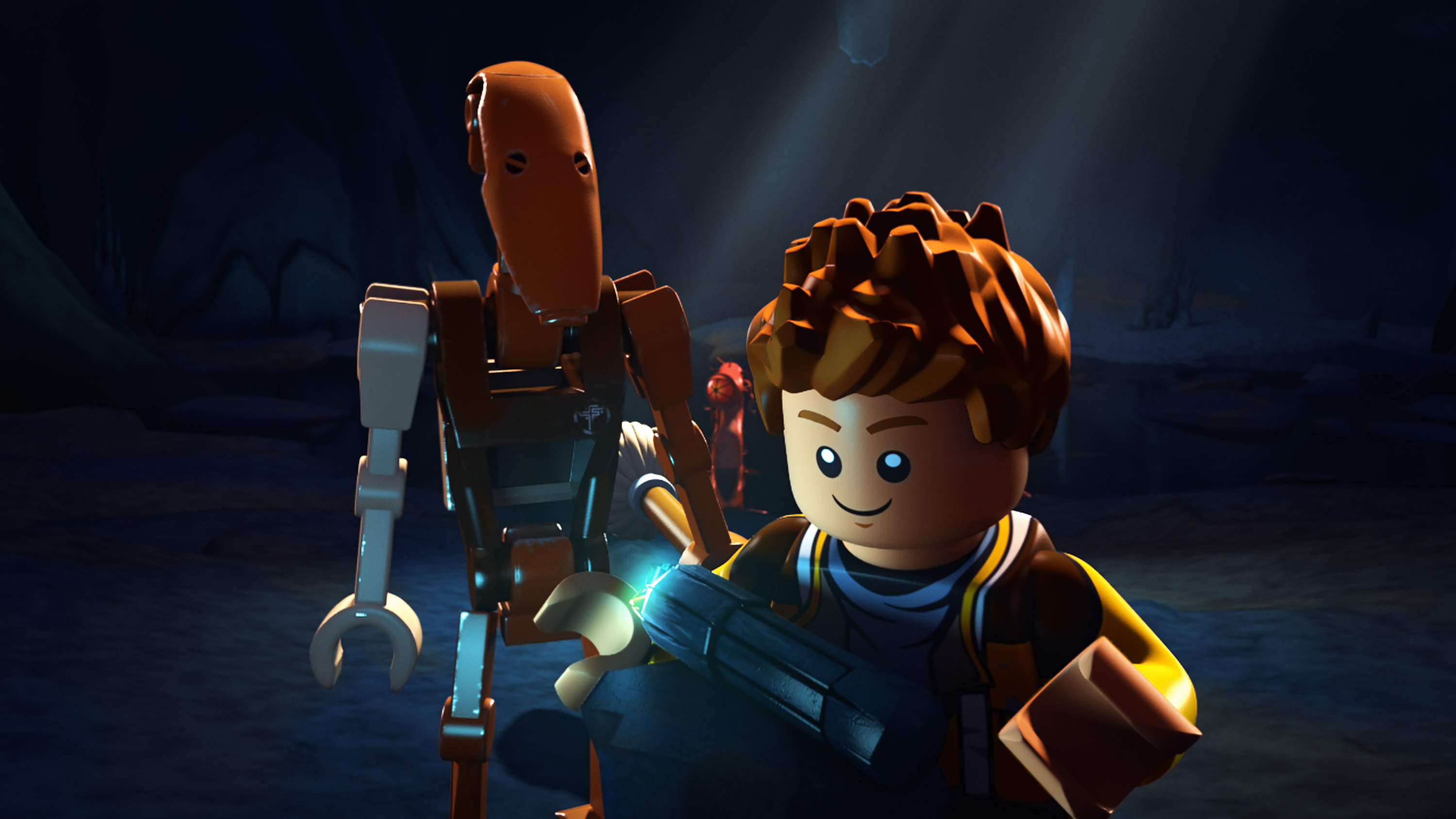 "LEGO STAR WARS: THE FREEMAKER ADVENTURES - Introducing new heroes and villains to the LEGO Star Wars universe, the animated television series ""LEGO Star Wars: The Freemaker Adventures"" will premiere MONDAY, JUNE 20 (10:00 a.m. EST) on Disney XD. (Disney XD)."