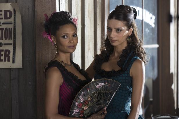 Thandie Newton as Maeve,  Angela Sarafyan as Clementine