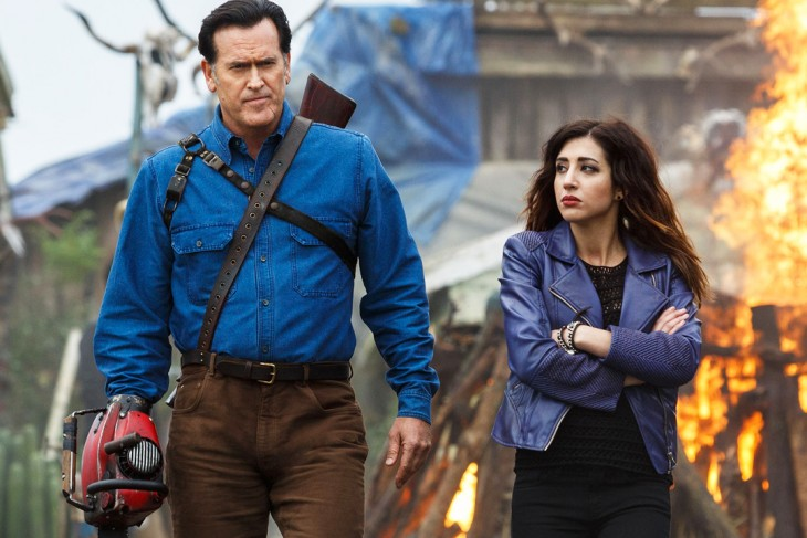 bruce-campbell-as-ash-williams-and-dana-delorenzo-as-kelly-maxwe-157574