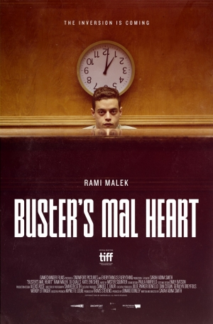 Buster's Mal Heart poster teases Rami Malek's inversion
