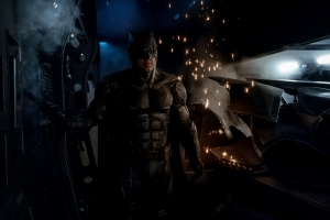 Justice League's new Batman suit gets tactical and Nite Owl-y