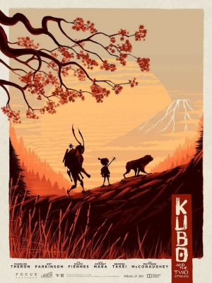 Kubo And The Two Strings art poster is almost as beautiful as the film