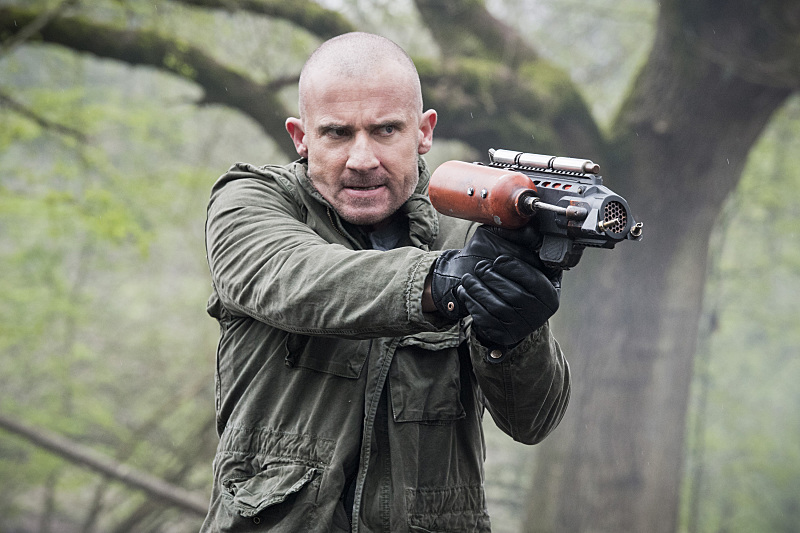 "DC's Legends of Tomorrow --""Legendary""-- Image LGN116a_0097b.jpg --  Pictured: Dominic Purcell as Mick Rory/Heat Wave -- Photo: Dean Buscher/The CW -- © 2016 The CW Network, LLC. All Rights Reserved."