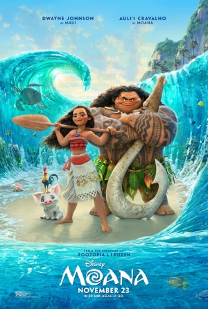 Moana new poster gets ready to set sail