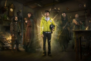 Zapped! James Buckley on Dave's new fantasy series