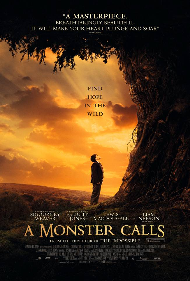 A Monster Calls review LFF 2016: Patrick Ness' fairytale comes to life