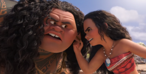 Moana new clip introduces shapeshifter and demigod Maui