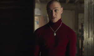 Split trailer sees James McAvoy take on many forms