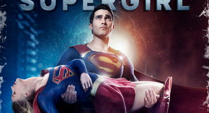 Supergirl poster homages Crisis On Infinite Earths