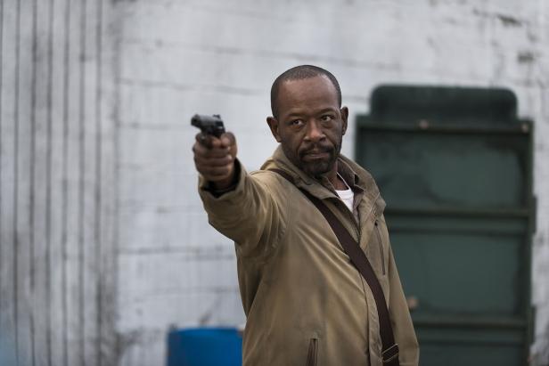 Lennie James as Morgan Jones - The Walking Dead _ Season 6, Episode 16 - Photo Credit: Gene Page/AMC .