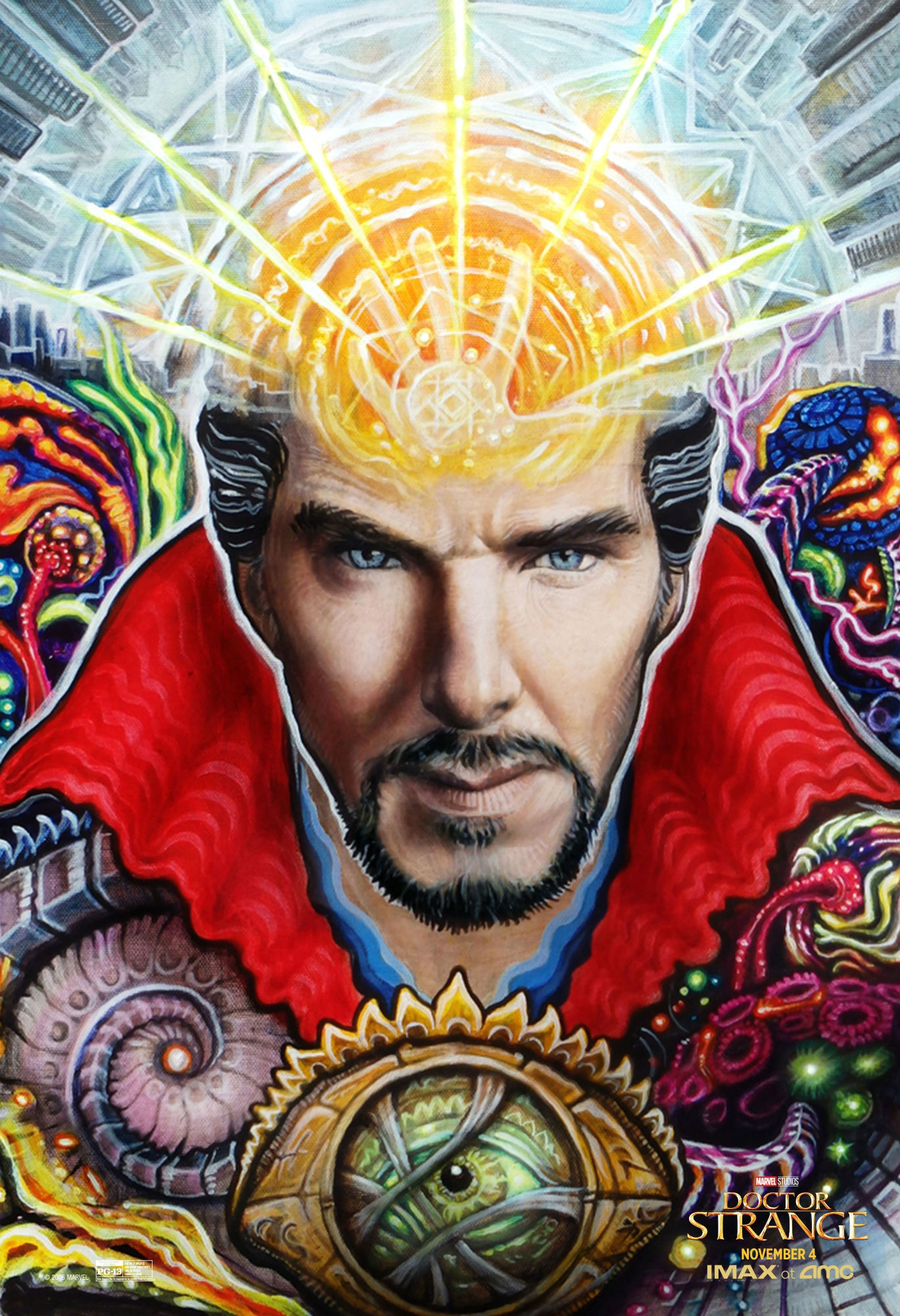 Doctor Strange new IMAX posters get psychedelic | SciFiNow - The World's Best Science Fiction ...
