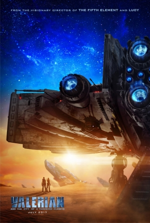Valerian And The City Of A Thousand Planets poster explores new worlds