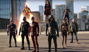 Arrow, Flash, Supergirl and Legends crossover gets an awesome full trailer