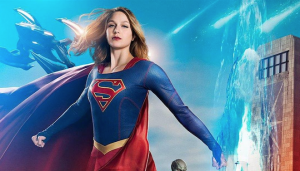 Arrow, Flash, Supergirl and Legends crossover posters assemble team