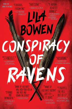 Conspiracy Of Ravens by Lila Bowen book review