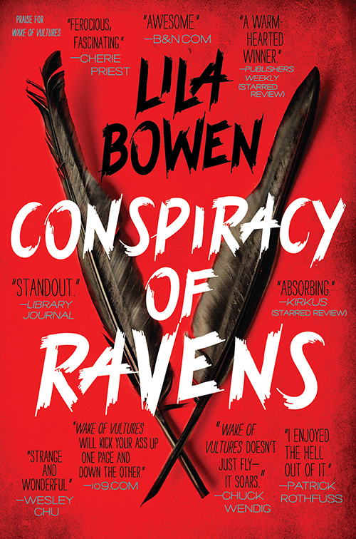 Conspiracy Of Ravens by Lila Bowen book review | SciFiNow