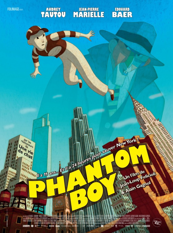 Phantom Boy film review: animated excellence?