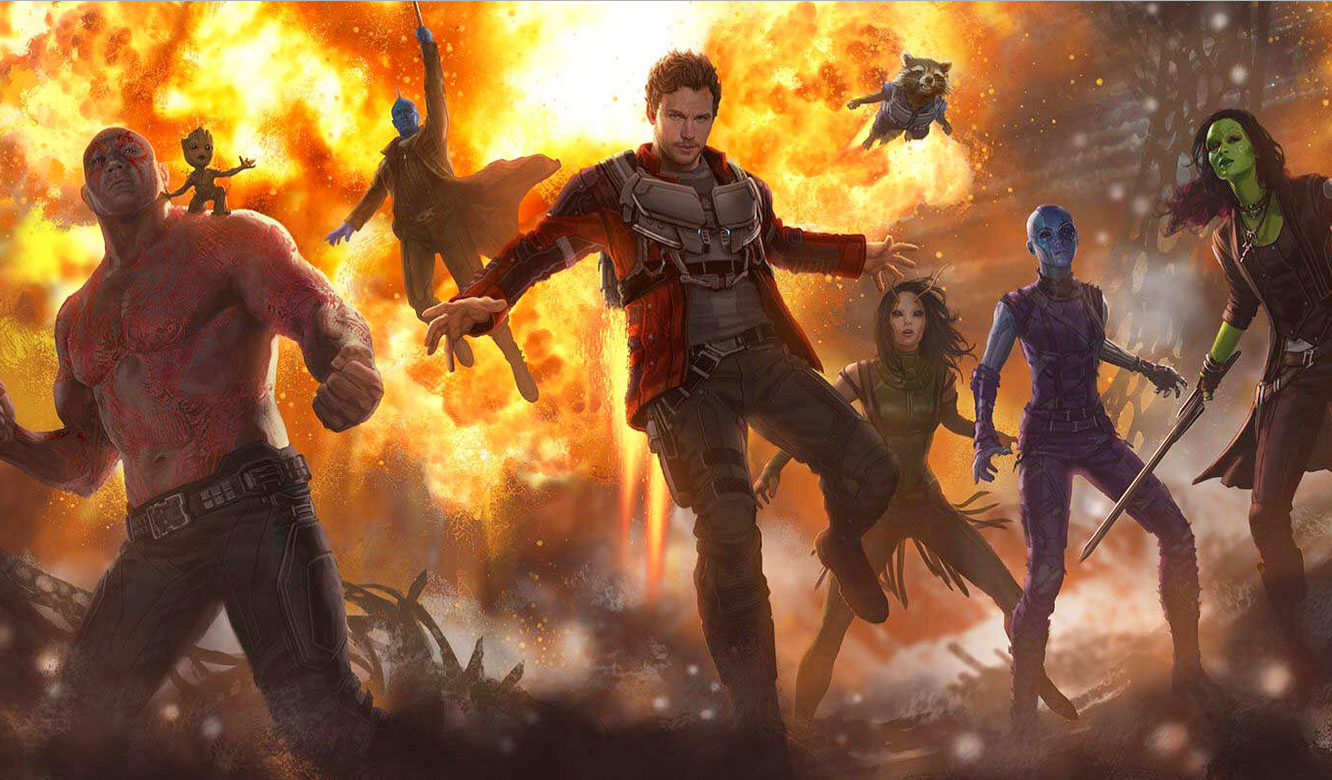 """Guardians Of The Galaxy 2 is """"picking up where we left off ..."""
