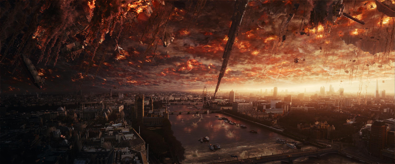 ID2_UMS_133_0460_ref_still-comp-01094_v0016 - An alien attack has devastating effects on a major world capital. Photo Credit: Courtesy Twentieth Century Fox.