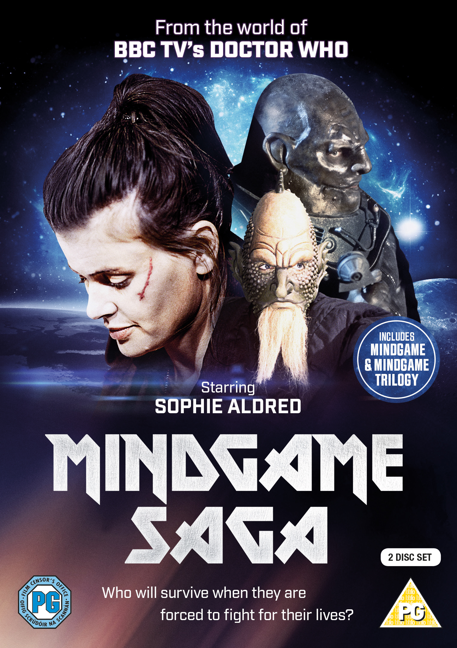 Mindgame Saga DVD review: bygone Doctor Who