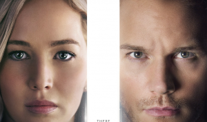 Passengers new poster crops its stars' faces again