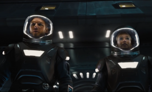 Passengers TV spot is alone in space