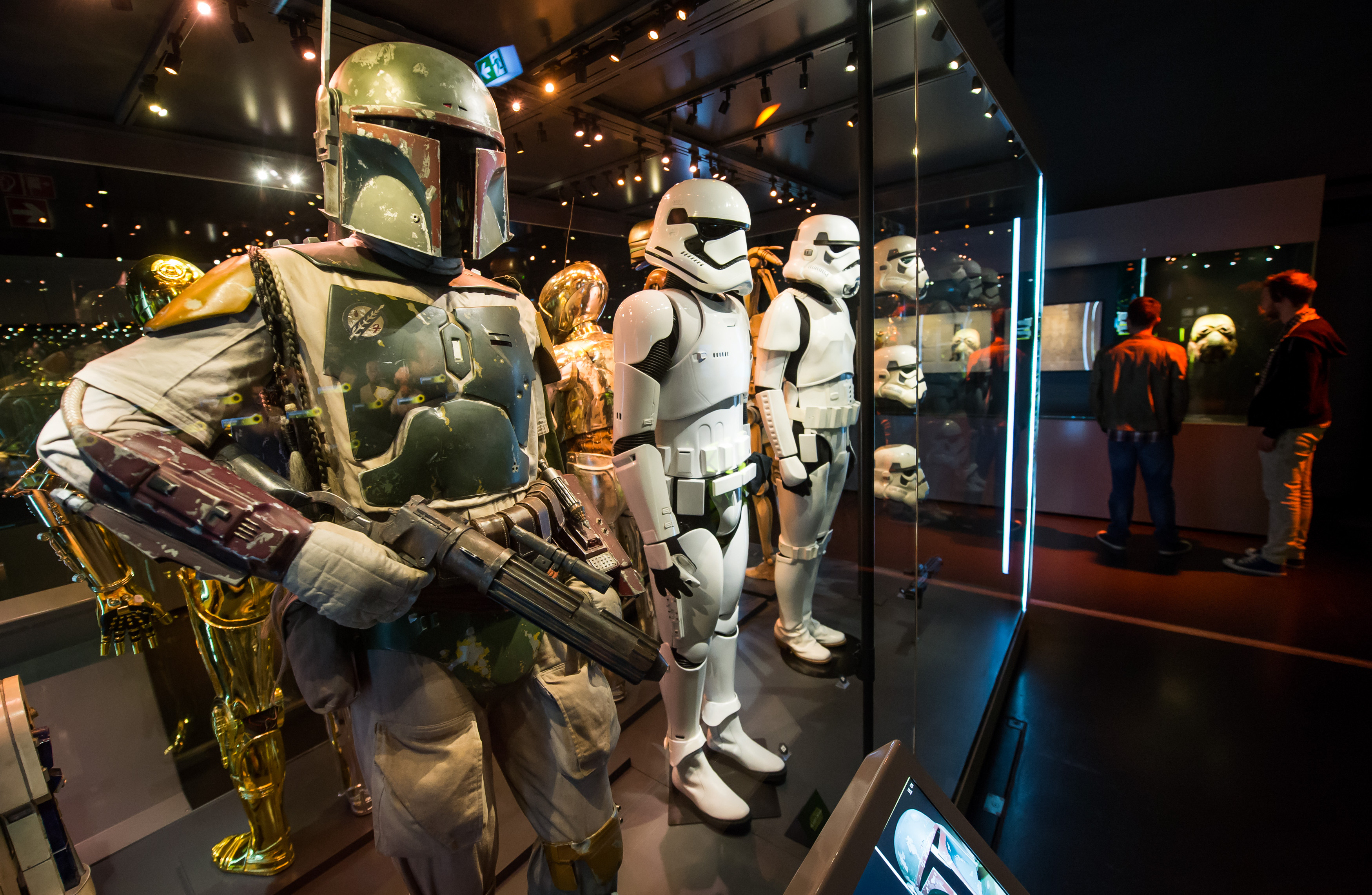 STAR WARS Identities - Munich Olympiapark; photographed on 20-09-2016 in Munich/ Muenchen; Foto: Joerg Koch joerg@joergkochfoto.de; +49-175-1815173;