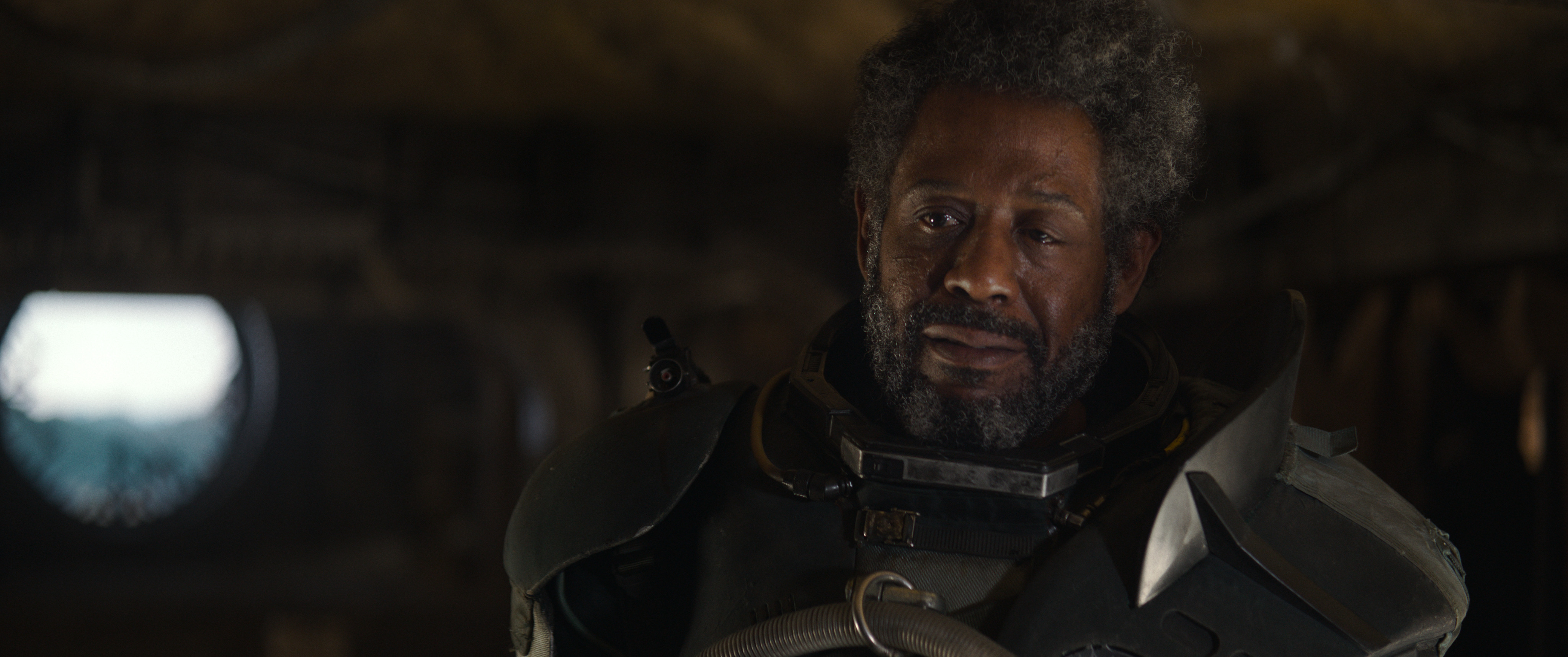 Rogue One: A Star Wars Story..Saw Gerrera (Forest Whitaker)..Ph: Film Frame/Lucasfilm..©Lucasfilm LFL 2016.