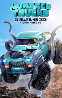 Monster Trucks film review: carry on truckin'