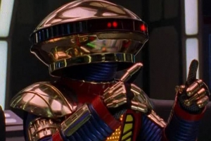 Power Rangers: new-look Alpha 5 looks… gangly