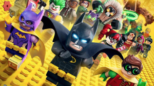 Lego Batman movie poster has all the characters